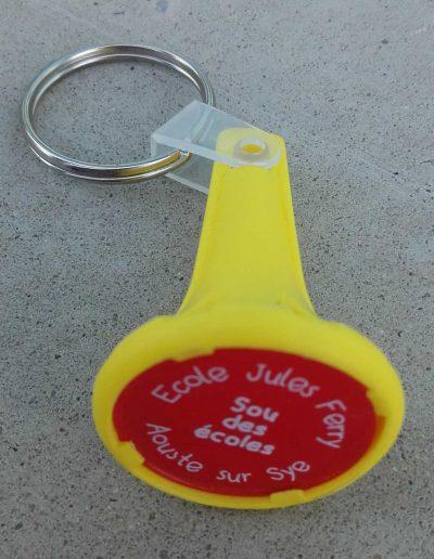 Porte-clé jeton
