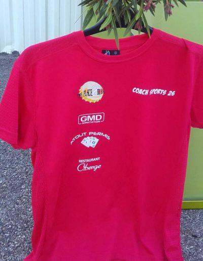 Tee-Shirt pour coach