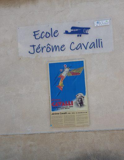 Panneau Ecole Cavalli