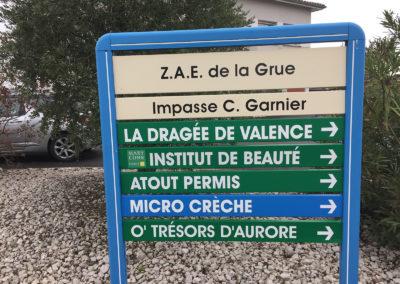 AJC Impression Totem ZAE Chabeuil